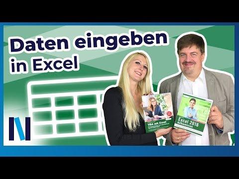 Makros in Excel: Daten schnell und effizient eingeben mit einer eigenen Eingabemaske