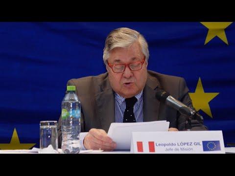 MOE UE Perú 2020. Resumen de la conferencia de prensa y presentación de la declaración preliminar