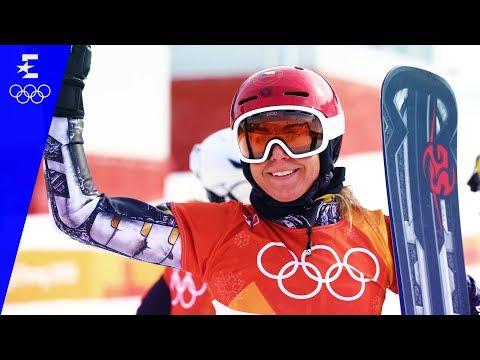 Snowboard | Ladies' Parallel Giant Slalom Highlights | Pyeongchang 2018 | Eurosport