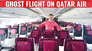 Review: MY GHOST FLIGHT ON QATAR AIRWAYS ECONOMY CLASS!