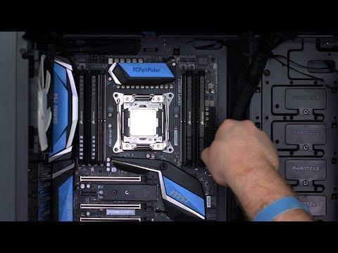 MSI X299 Gaming Pro Carbon AC / Intel i7-7800X Build