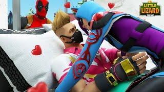 Drift Kisses Deadpool's Girl Behind His Back!!! - Fortnite Short Films