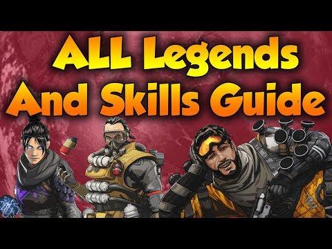 Apex Legends All Characters Guide + Abilities (Apex Legends Battle Royale Guide)