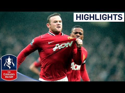 Manchester City 2-3 Manchester United | United Resist City Comeback | FA Cup Third Round 2011/12