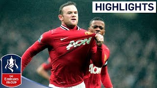 Manchester City 23 Manchester United  Official Highlights  FA Cup 3rd Round Proper 080112