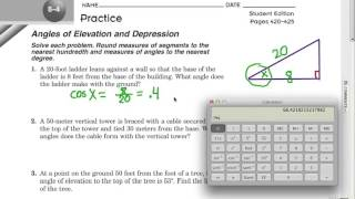 Right Triangle Trig Applications: Part 2
