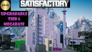 Satisfactory upgradable megabase with main bus and integrated storage