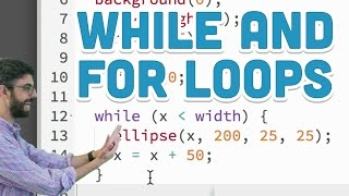 Download Youtube: 4.1: while and for Loops - p5.js tutorial