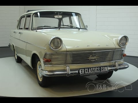 Video of '61 Opel Olympia-Rekord located in Noord-Brabant - Q36F