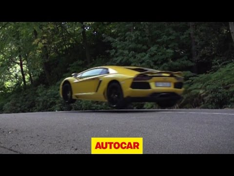 Lamborghini Aventador challenge 1: will they jump?