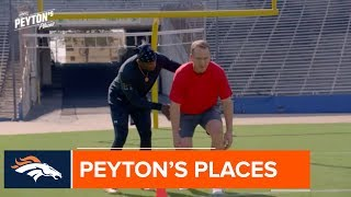 Peyton Manning trains with Deion Sanders | An inside look at Peyton