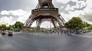 Eiffel Tower Paris HD | 360 Degree View
