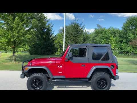 2002 Jeep® Wrangler X in Big Bend, Wisconsin - Video 2