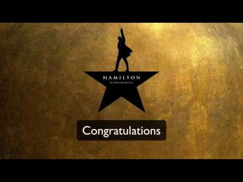 Congratulations - Hamilton (Lyrics)