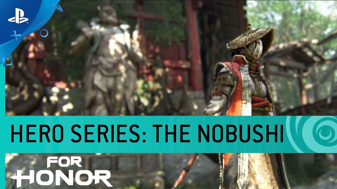 For Honor: The Masked Nobushi Samurai Sweep Into Battle