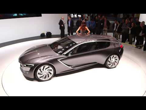 Vauxhall Monza Concept Car at the Frankfurt Motor Show