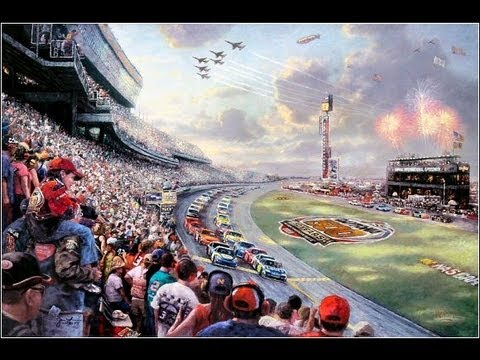 Richard Petty Motorsports >> NASCAR Thunder | Thomas Kinkade Studios