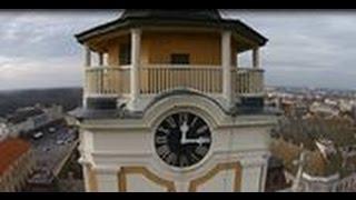 preview picture of video 'DJI Phantom Bajai Barátok Páduai Szent Antal templom.Church of Baja's eye view.'