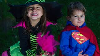 Cute Kids In Cute Halloween Costumes