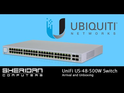 Ubiquiti UniFi US-48-500W 48 Port POE Switch