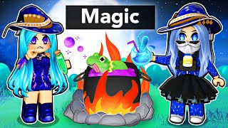 Playing with MAGIC Potions in Roblox!