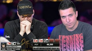 Why Everyone Is Freaking Out About This Phil Hellmuth Incident (2018 WSOP)