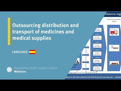 Outsourcing distribution and transport of medicines and medical supplies - Cajamarca, Peru