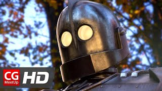 """CGI VFX Animated Short Film: """"The Iron Giant 2"""" by Christian Day   CGMeetup"""