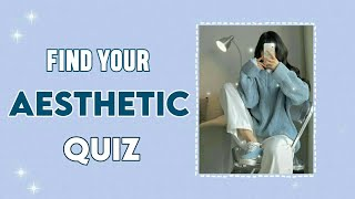 Find Your Aesthetic 2021 | Aesthetic Quiz #2