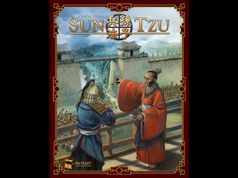 The Purge: # 963 Sun Tzu: A two player area control game with variable scoring