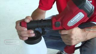 Spray Gun With Electric