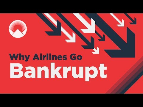 Why 10 Large Airlines Have Gone Bankrupt Since 2017