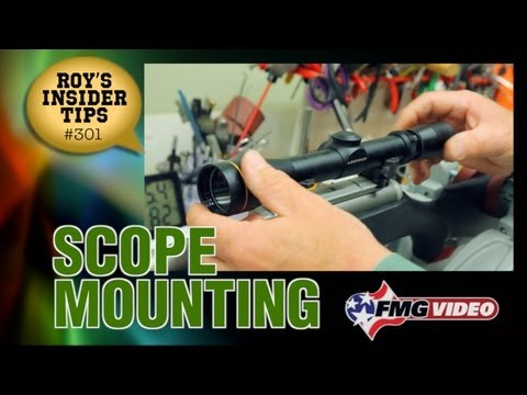Scope Mounting