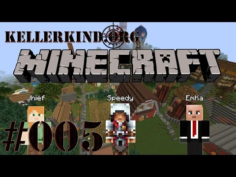 Kellerkind Minecraft SMP [HD] #005 – Baubeginn der Burg ★ Let's Play Minecraft