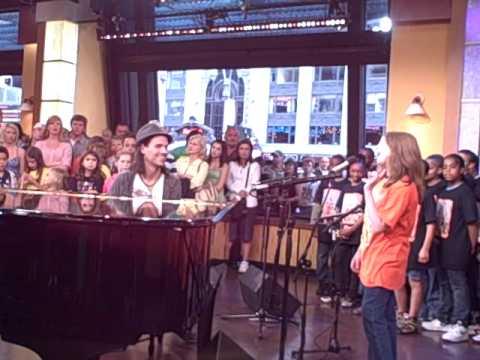 PS22 Chorus - Good Morning America -  Ali's Behind The Scenes..