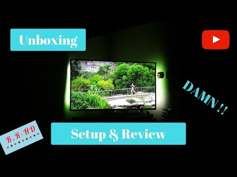Unboxing Setup & short Review Philips 43