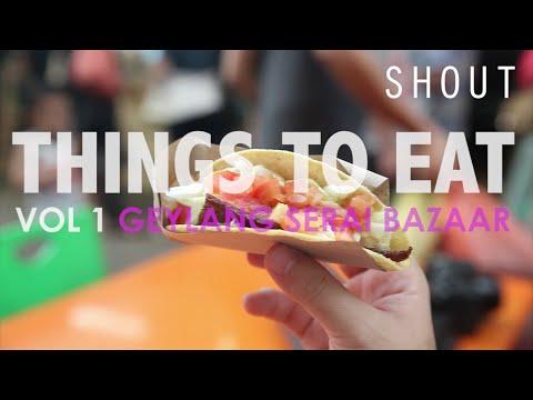 Things To Eat Geylang Serai Bazaar 2016 Shout