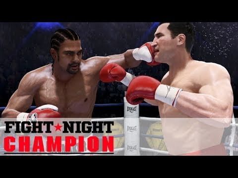 Fight Night Champion - Vitali Klitschko vs  David Haye (Xbox