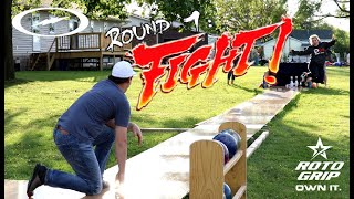 1 Game Match On The Backyard Lane !!! | Who Will Take Home The W ??