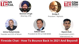 How to Bounce back in 2021 and Beyond | TiEcon Southwest 2020