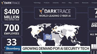 Darktrace CEO on the Growing Demand for AI Security Tech