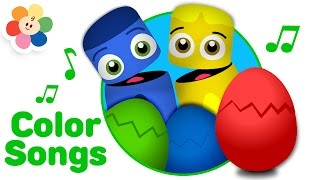 Surprise Eggs Colors Special | Color Song Nursery Rhymes | Color Egg Surprise for Kids | BabyFirst