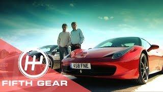 Fifth Gear: McLaren MP4-12C Vs Ferrari 458 Italia