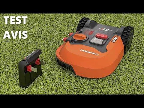 🥇 Tondeuse robot WORX LANDROID WR143E - Test & Avis (2021)