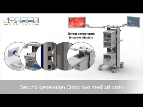 Crozz two 2G Medical Equipment Cart