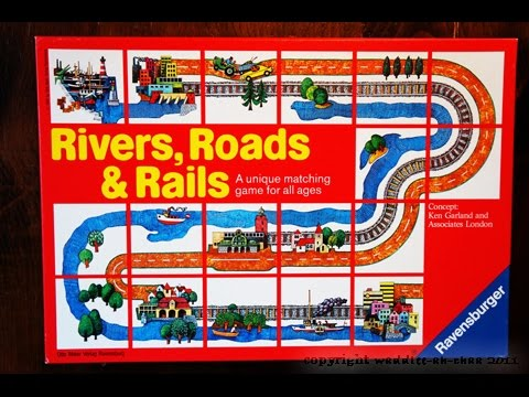 The Purge: # 1084 Rivers, Roads & Rails: Maybe your child's first tile laying game