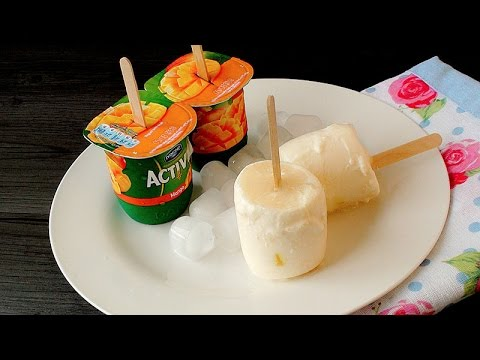 Video Quick and Easy Frozen Yogurt Ice Pops