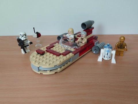 Vidéo LEGO Star Wars 8092 : Luke's Landspeeder