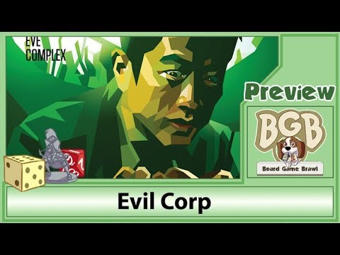 Board Game Brawl Evil Corp Review