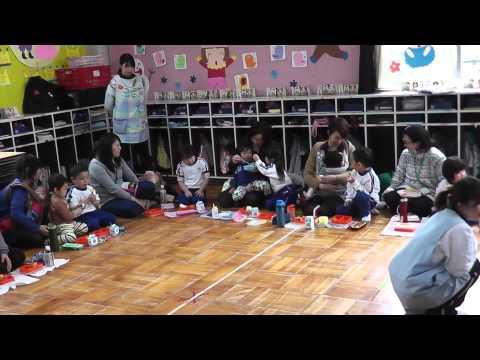 おおや幼稚園 親子ランチ(もも)
